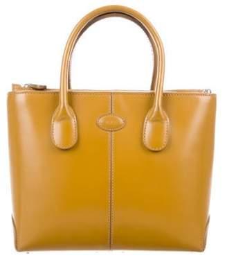 Tod's Leather Mini Satchel brown Leather Mini Satchel