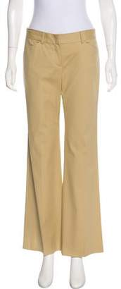Theory Low-Rise Flared Pants