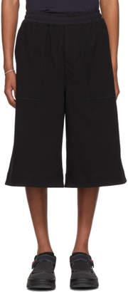 Issey Miyake Black Dense Jersey Shorts