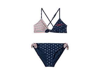Roxy Kids Surfing USA Athletic Tri Set (Big Kids)