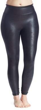 Spanx Plus Faux-Leather Leggings