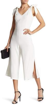 Cynthia Steffe CeCe by Shoulder Tie Crop Jumpsuit