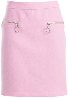 Moschino Zipped Pocket Skirt