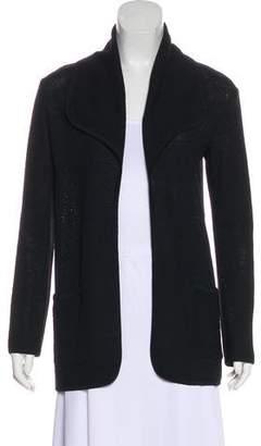St. John Oversize Open-Front Sweater