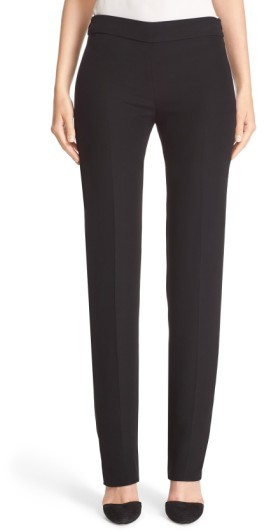 Women's Armani Collezioni Side Zip Cady Pants