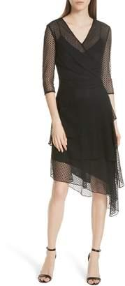 Milly Mimi Stretch Dots Dress