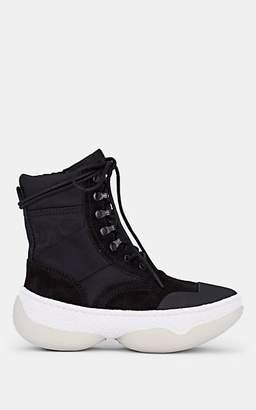 Alexander Wang Women's A1 Suede & Canvas Boots - Black