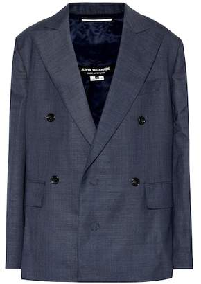 Junya Watanabe Double-breasted wool blazer