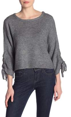 Kenneth Cole New York Cropped Boat Neck Sweater