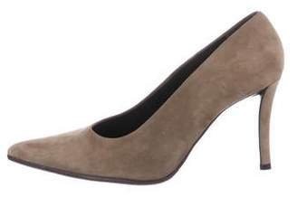 Walter Steiger Suede Pointed-Toe Pumps