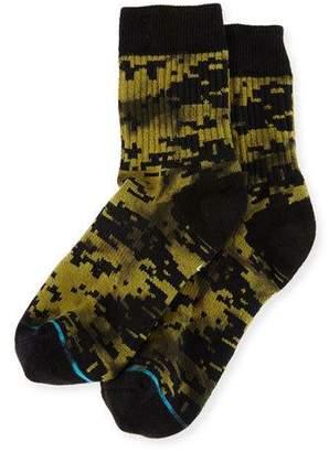Stance x Dwayne Wade A-Tac Socks, Olive