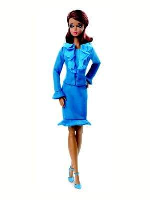 Mattel Chic City Suit Barbie Doll