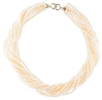 Tiffany & Co. Multistrand Pearl Necklace