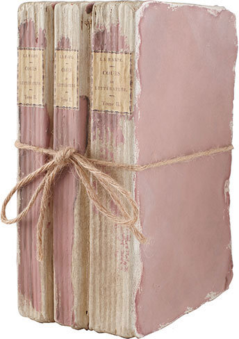 Book Boxes - Pink Three-Stack