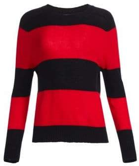RE/DONE Stripe Crew Neck Sweater