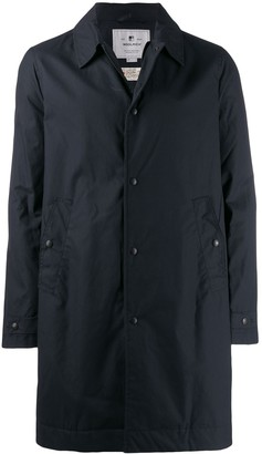 Woolrich mid-length raincoat