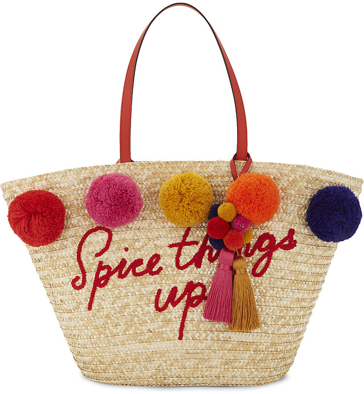 Kate Spade kate spade new york Spice things up straw tote