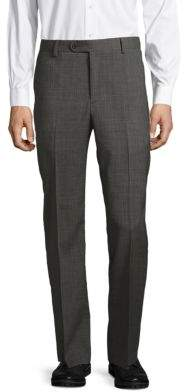 Saks Fifth Avenue Wool Flat Front Pants