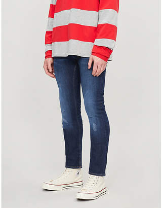 08edfeaa9 Tommy Hilfiger Layton distressed extra slim-fit jeans