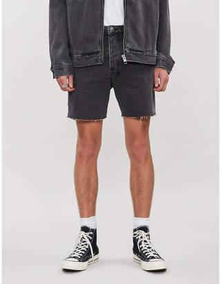 Ksubi Dagger Dan cut-off denim shorts