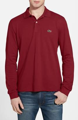 Lacoste Classic Fit Long Sleeve Pique Polo