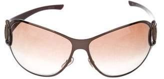 Gucci Metallic Horsebit Sunglasses