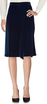Blumarine Knee length skirts - Item 35382441JQ