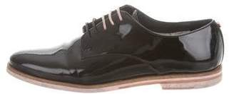 Ted Baker Patent Leather Lace-Up Oxfords