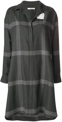 Odeeh striped shirt dress