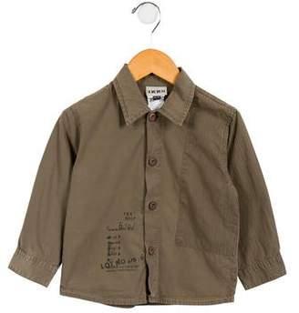 Ikks Boys' Printed Button-Up Shirt