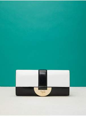 Diane von Furstenberg East/West Monogram Clutch