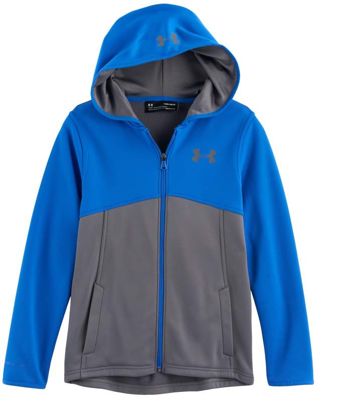 Boys 8-20 Under Armour Fleece Full-Zip Hoodie