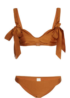 Zimmermann Veneto Bow-Detailed Bikini Size: 2