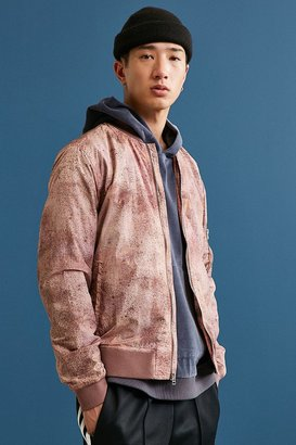 Urban Outfitters UO Crinkly Nylon Summer Bomber Jacket $89 thestylecure.com