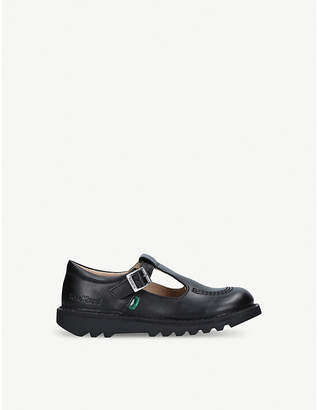 Kickers Kick T leather shoes (6-9 years)