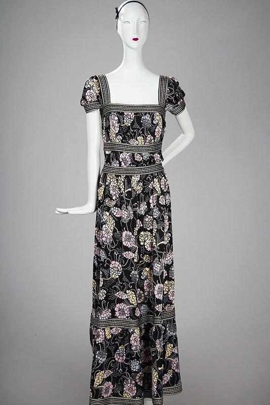 MISSONI COLLECTION Floral Print Long Dress