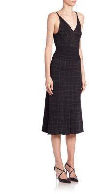 Bottega Veneta Sleeveless Wool-Blend Knit Dress