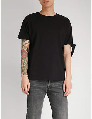 J.W.Anderson Knotted cotton-jersey T-shirt