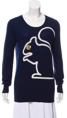 Markus Lupfer Squirrel Knit Sweater