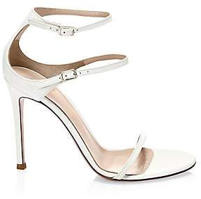 Gianvito Rossi Women's Double Buckle Leather Sandals