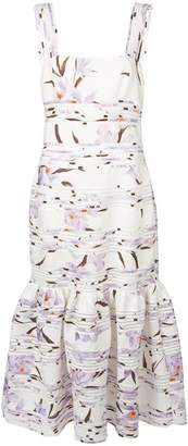 Zimmermann pleated floral dress