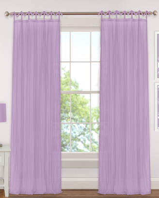 Elrene Greta Crushed Semi-Sheer Window Curtain Panel