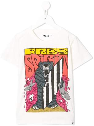 Molo bear print T-shirt