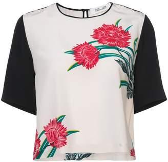 Diane von Furstenberg Farren print T-shirt