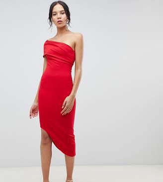 City Goddess Tall Asymetric Bodycon Dress