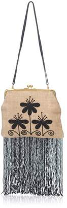 Fendi Vintage Beaded Fringed Shoulder Bag