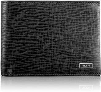Tumi Monaco Global Leather Wallet with Coin Pocket