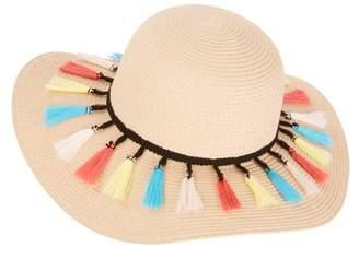 Time and Tru Fashion Floppy Hats, Tiny Tassel