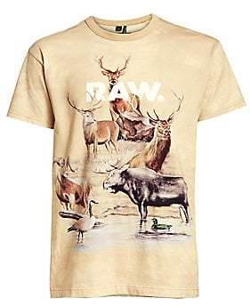 G Star Men's Cyrer Desert Print T-Shirt