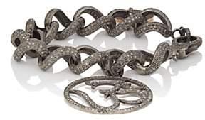 """Carole Shashona Women's Say """"Om"""" Blessings Bracelet"""